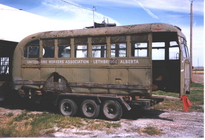Mine Bus Restoration