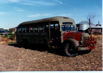 Mine Bus Restoration
