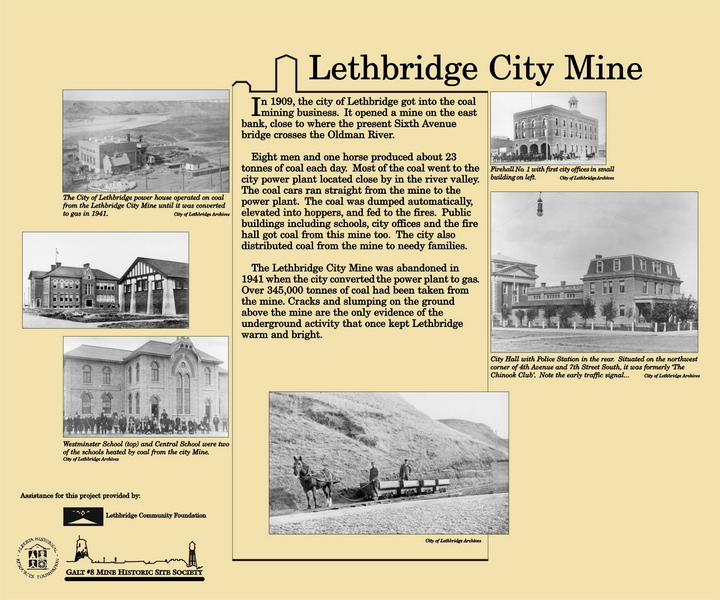Lethbridge City Mine