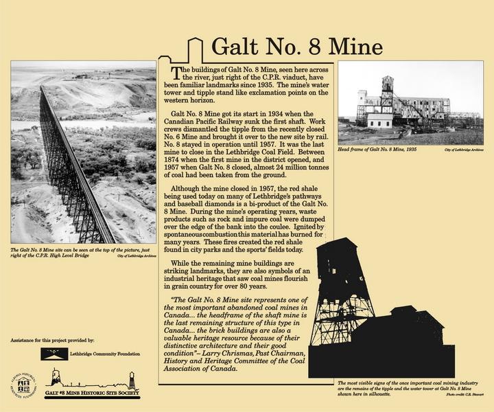 Galt #8 Mine