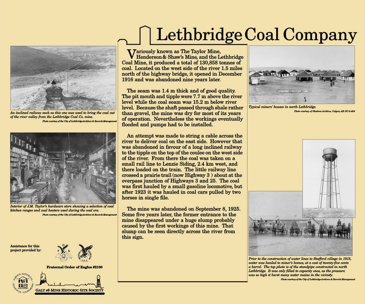 The Lethbridge Coal Company