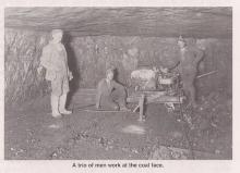 Galt 8 Mine underground